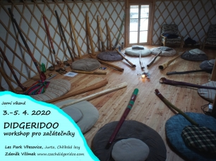 DIDGERIDOO WORKSHOPU JARO 2020