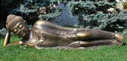 Buddha spící